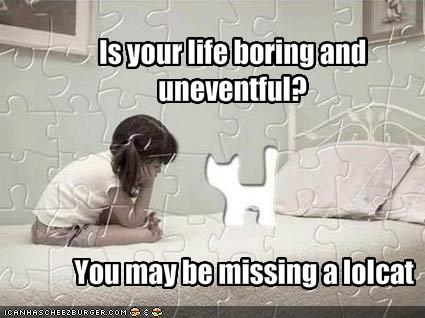 boring? never!